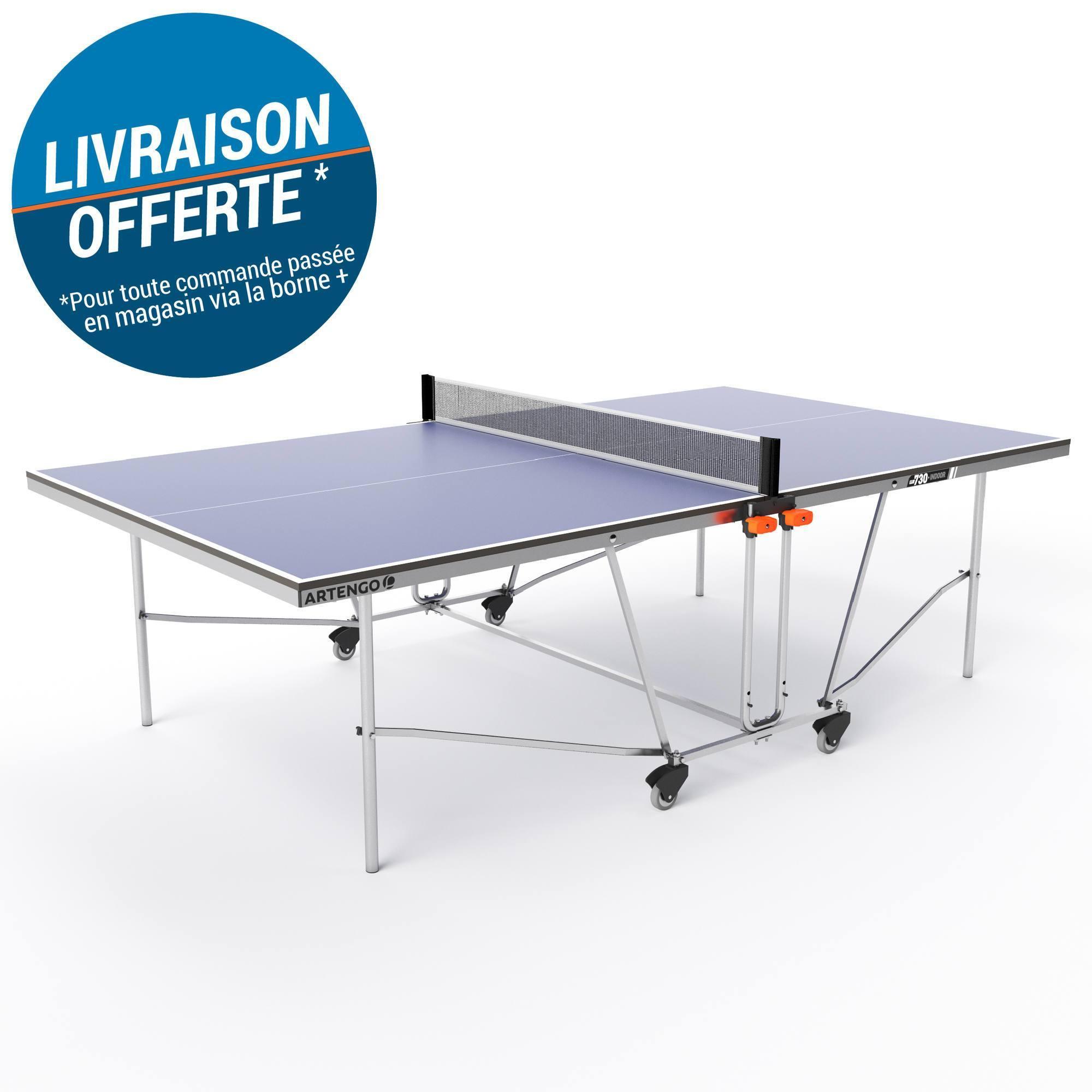 TABLE DE TENNIS DE TABLE PPT 730 INDOOR