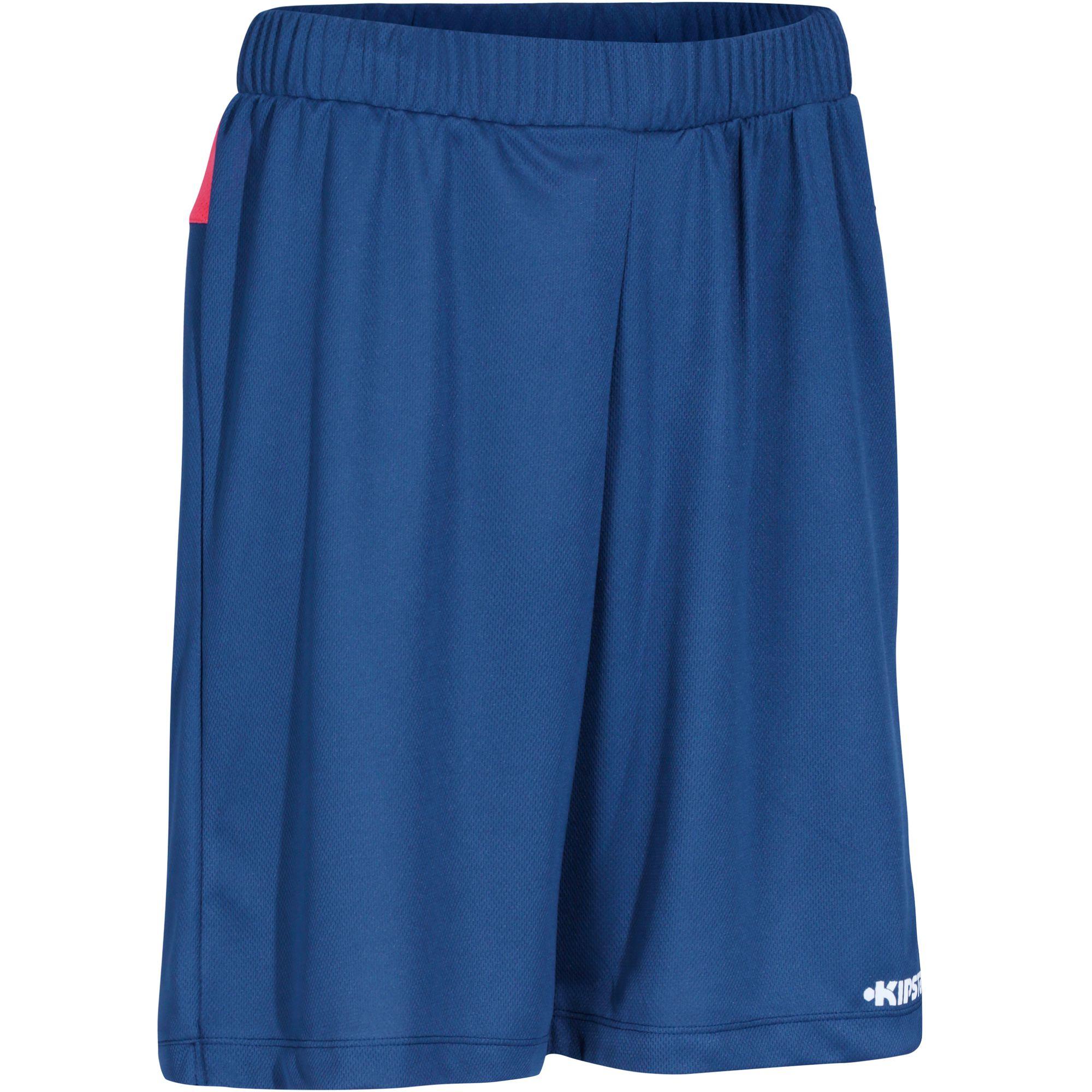 Short basketball femme B500 navy rose