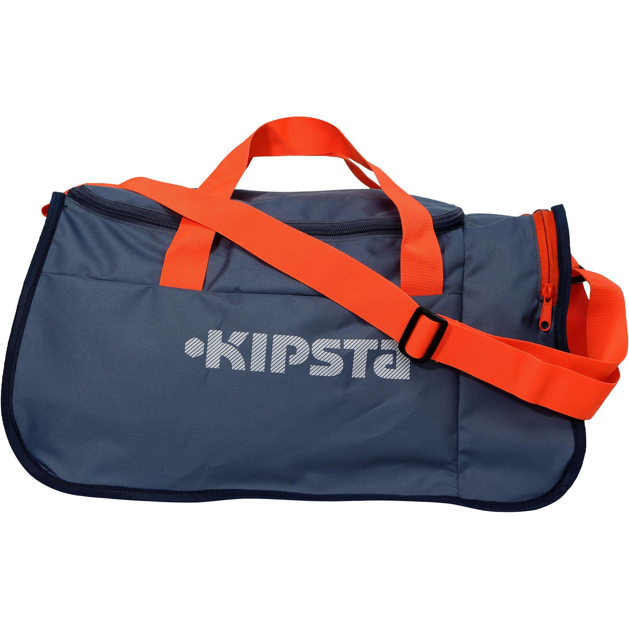 Sac de sports collectifs Kipocket 40 litres bleu gris