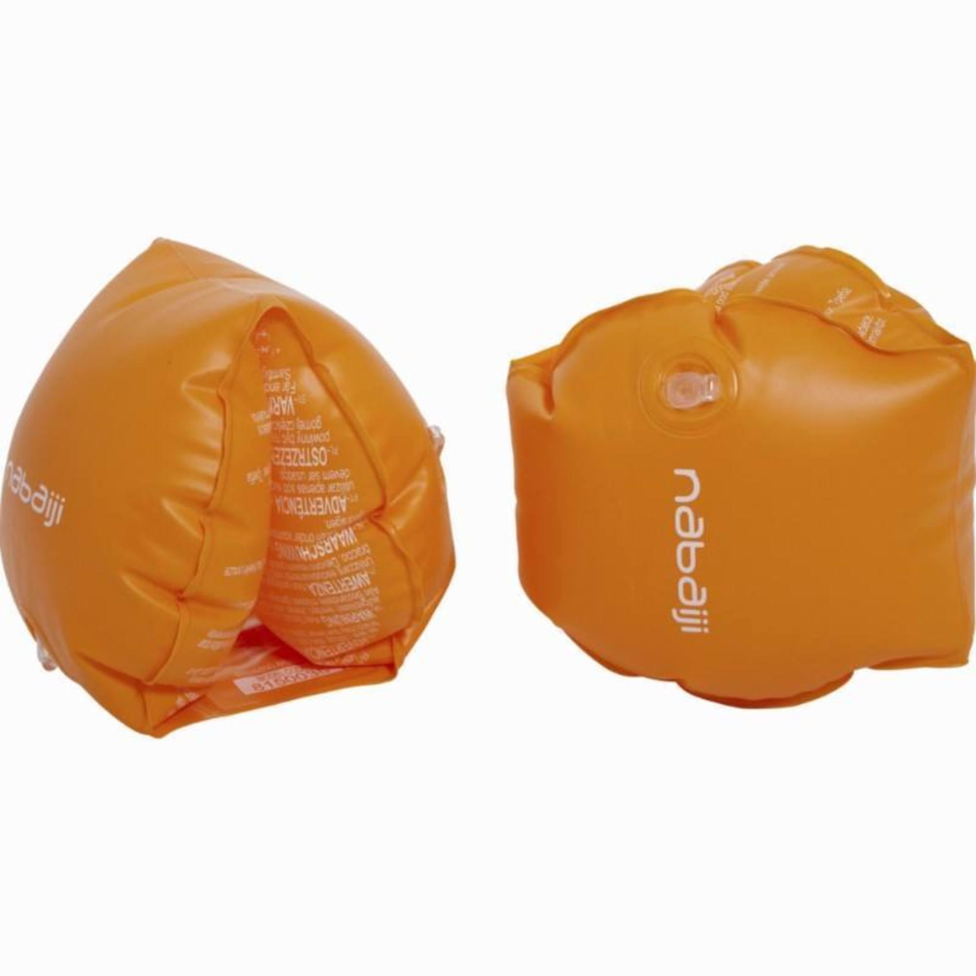 Brassards orange deux chambres de gonflages pour enfants ou adultes de 30-60Kg