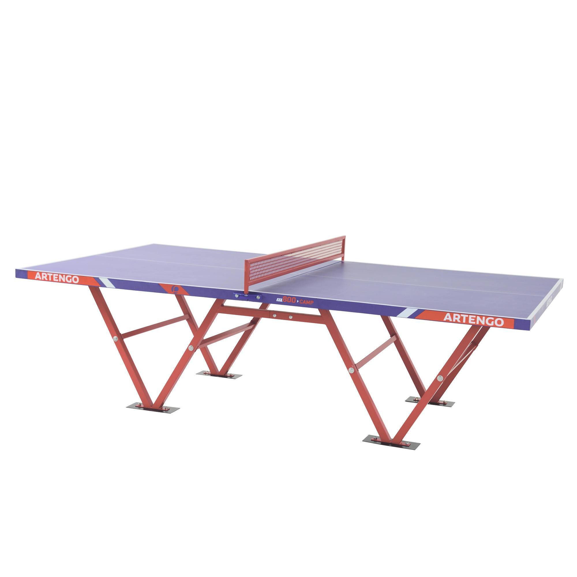 Table de ping pong pour collectivites artengo ft800 camp clubs collectivit s decathlon pro - Decathlon table de ping pong ...