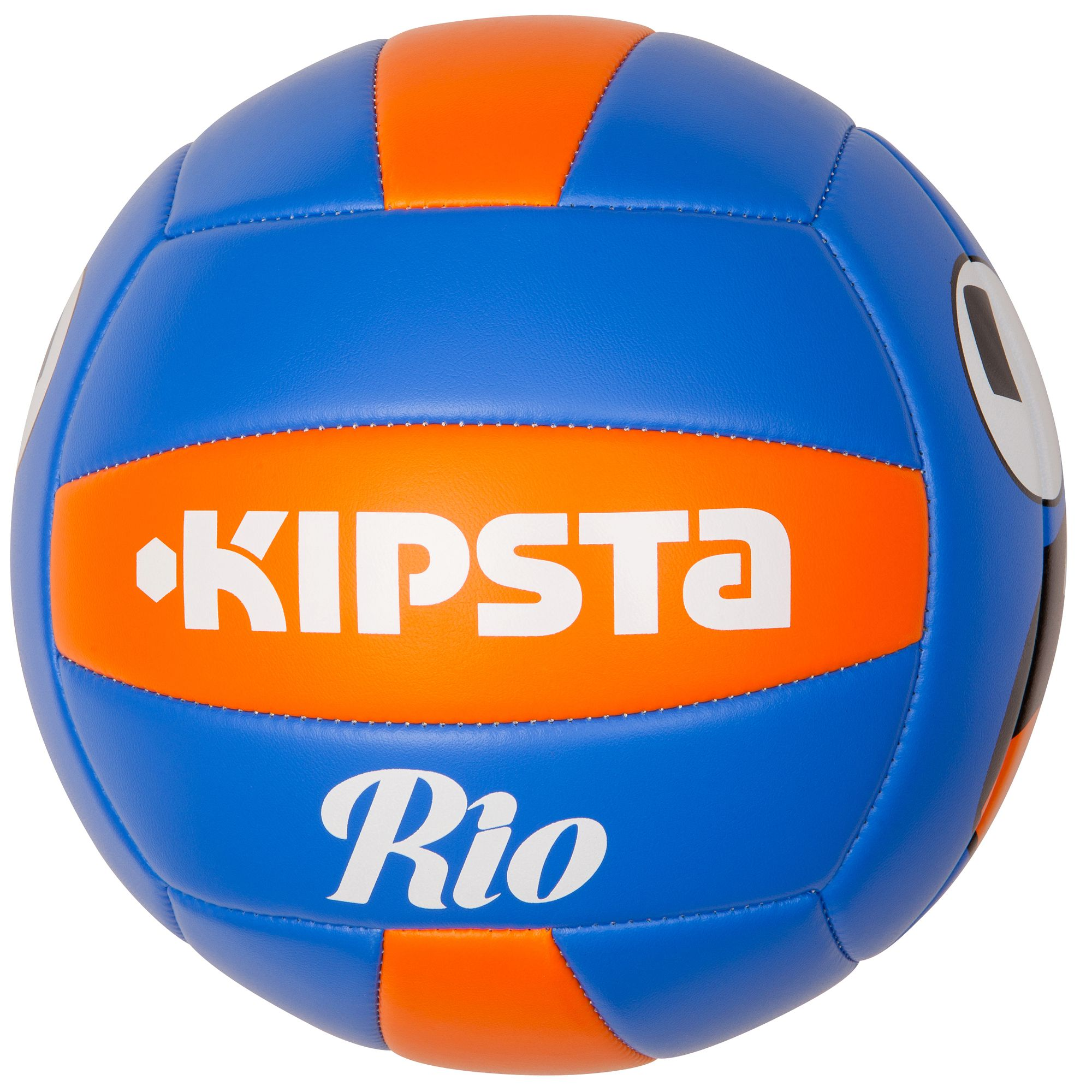 Ballon  volleyball extérieur Rio Face bleu orange
