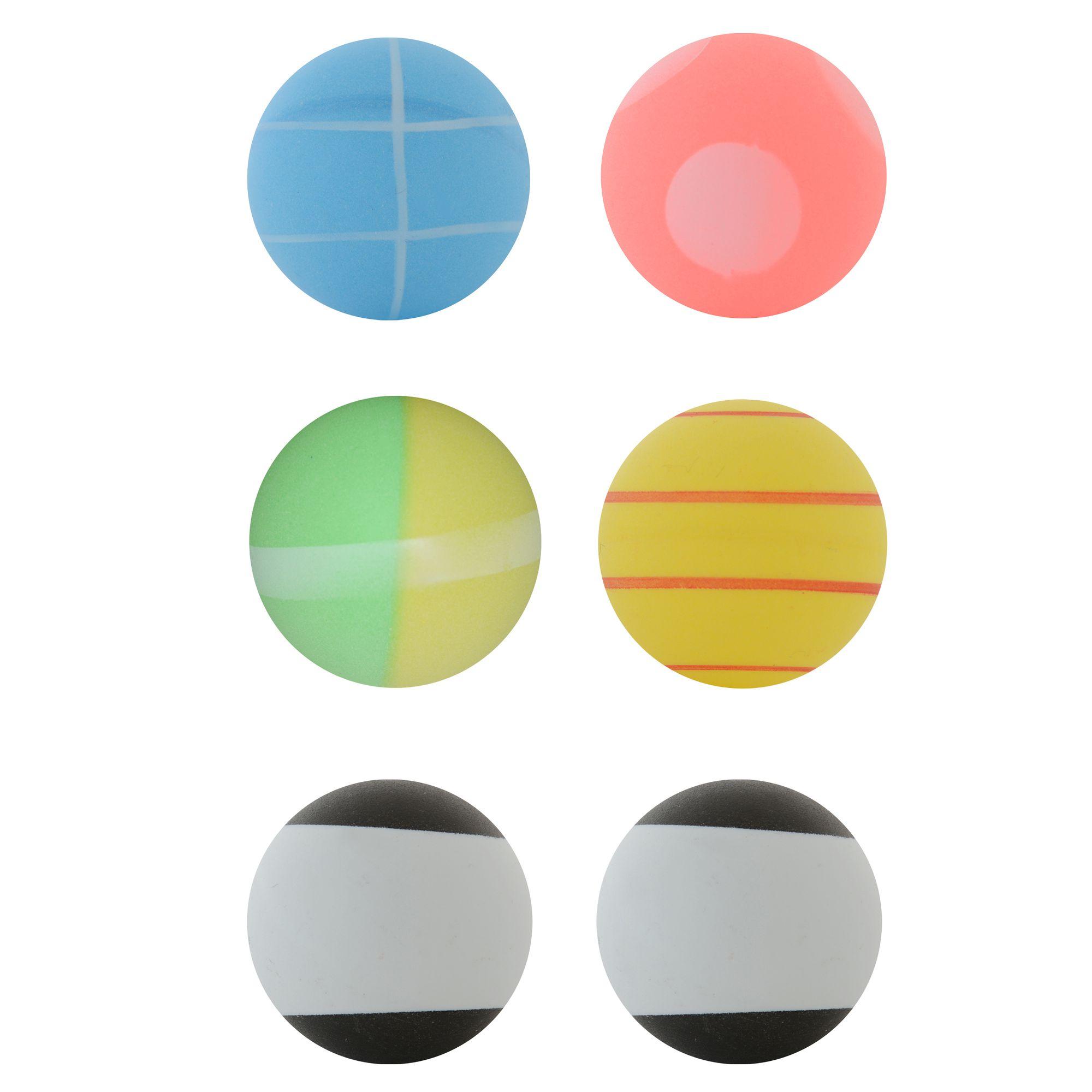 BALLES DE TENNIS DE TABLE ARTENGO FUN BALL LOT DE 6