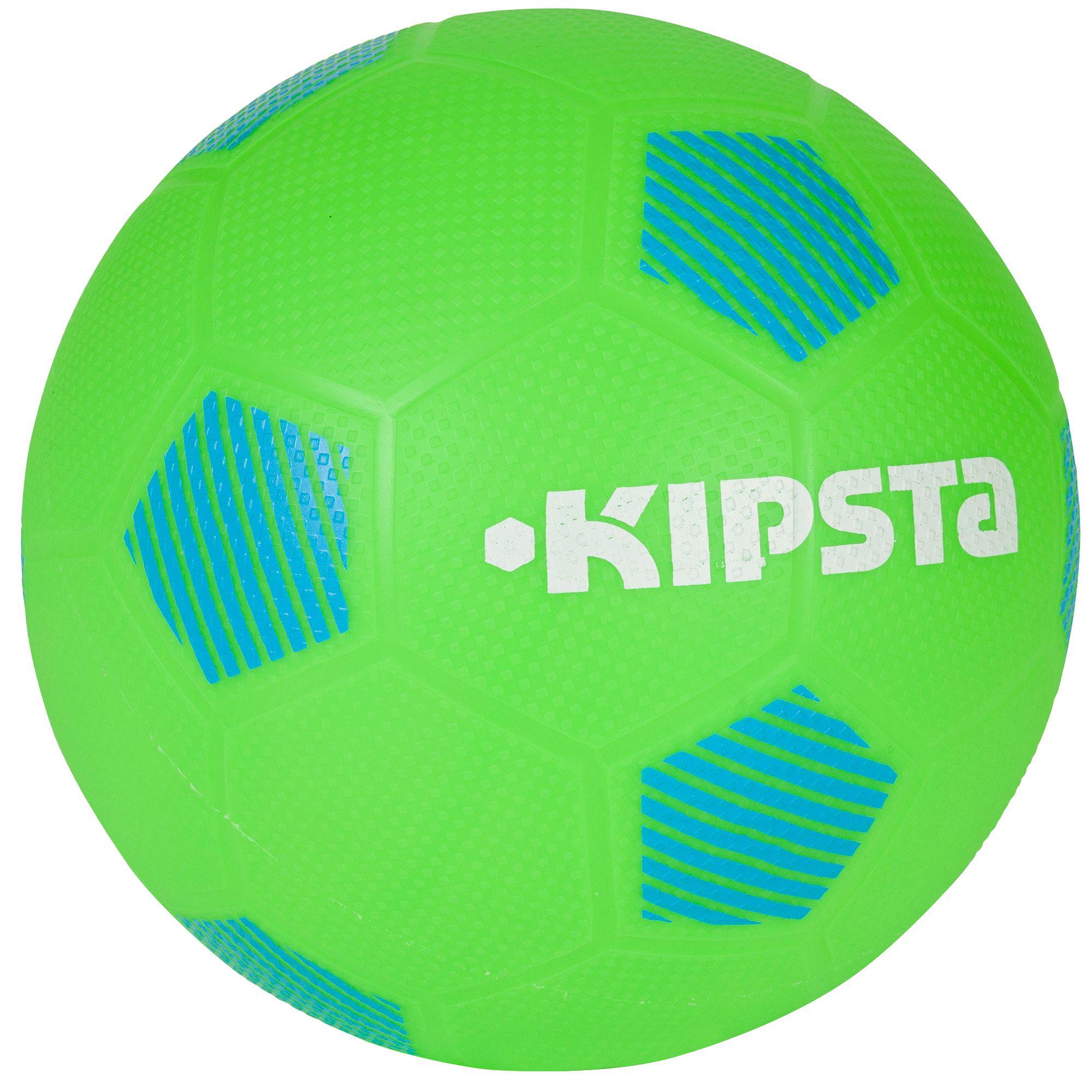 Ballon football Sunny 300 taille 5 vert bleu