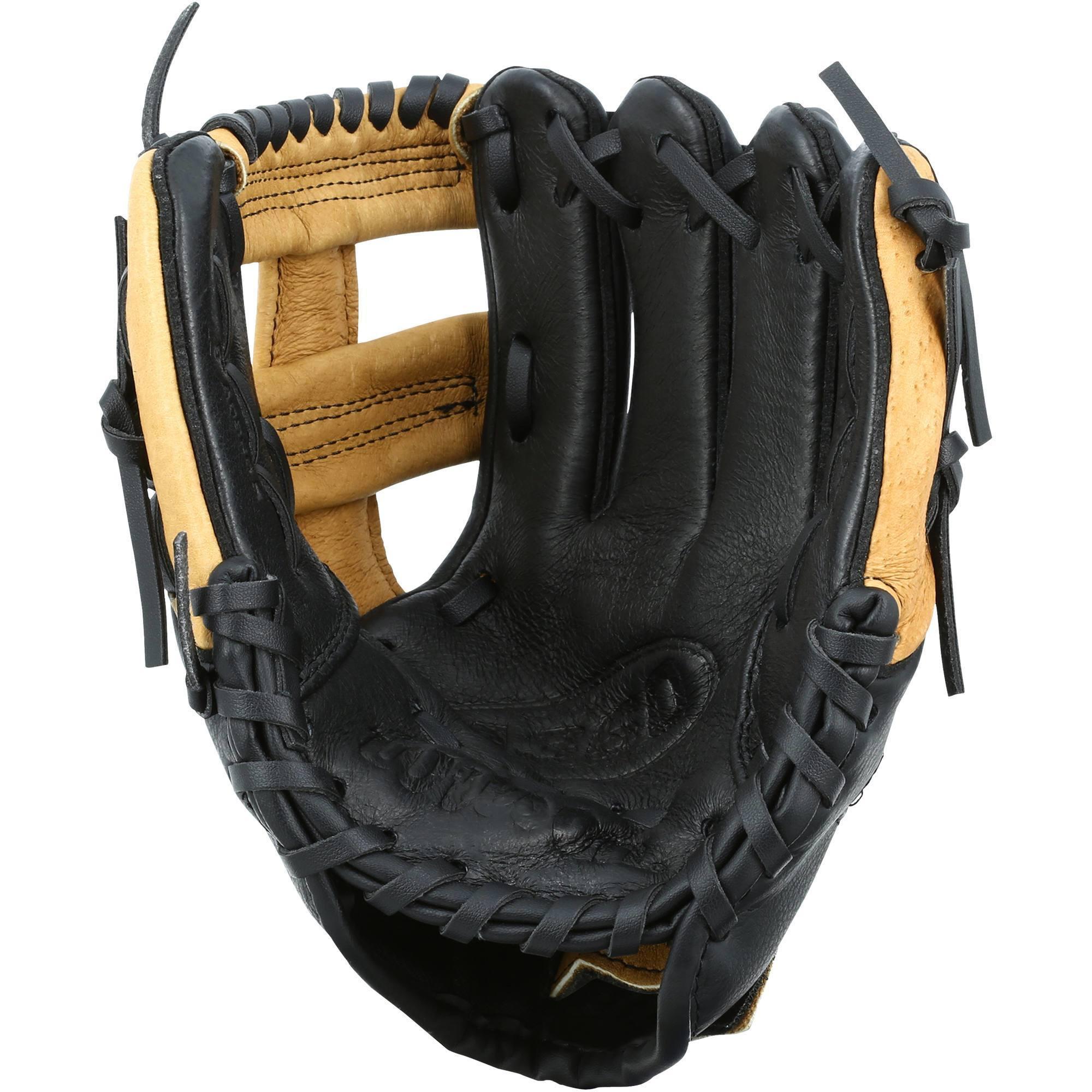 Gant de baseball pour enfant Jr A360 main gauche 9 pouces (22.86 cm) marron