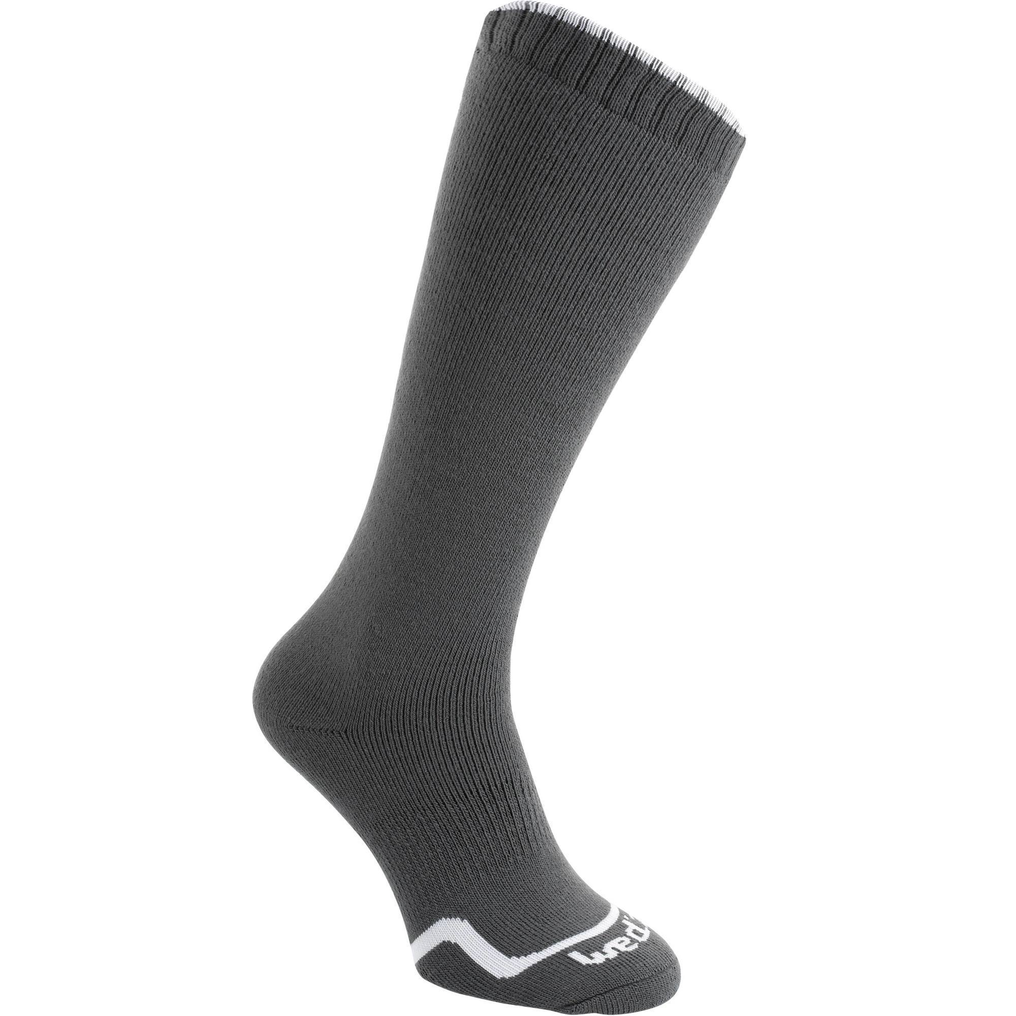 CHAUSSETTE DE SKI FIRSTHEAT GRIS