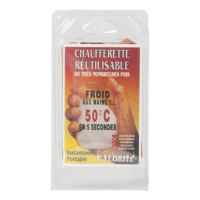 Chauffe-mains réutilisable