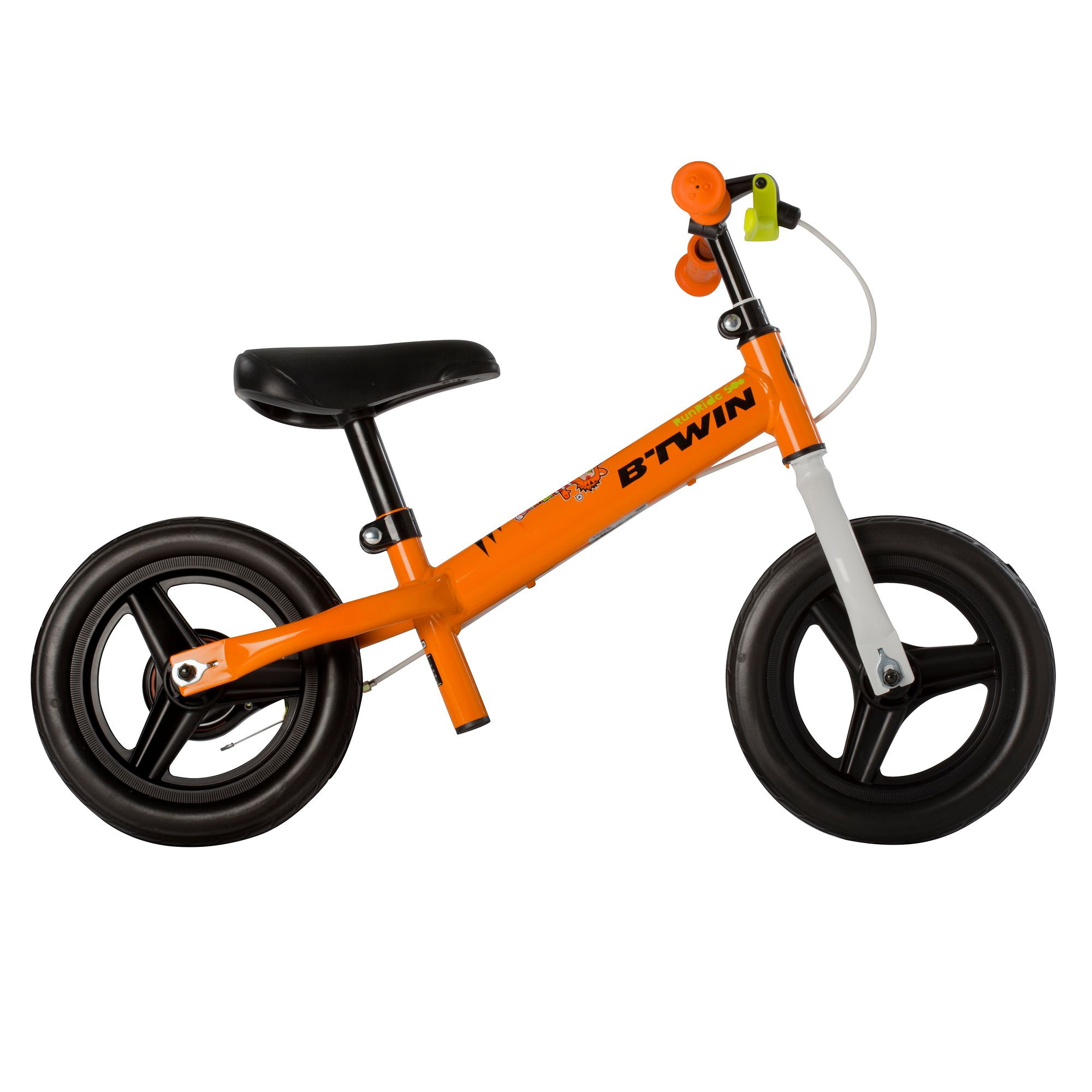 Draisienne enfant 10 pouces Run Ride 500 Orange