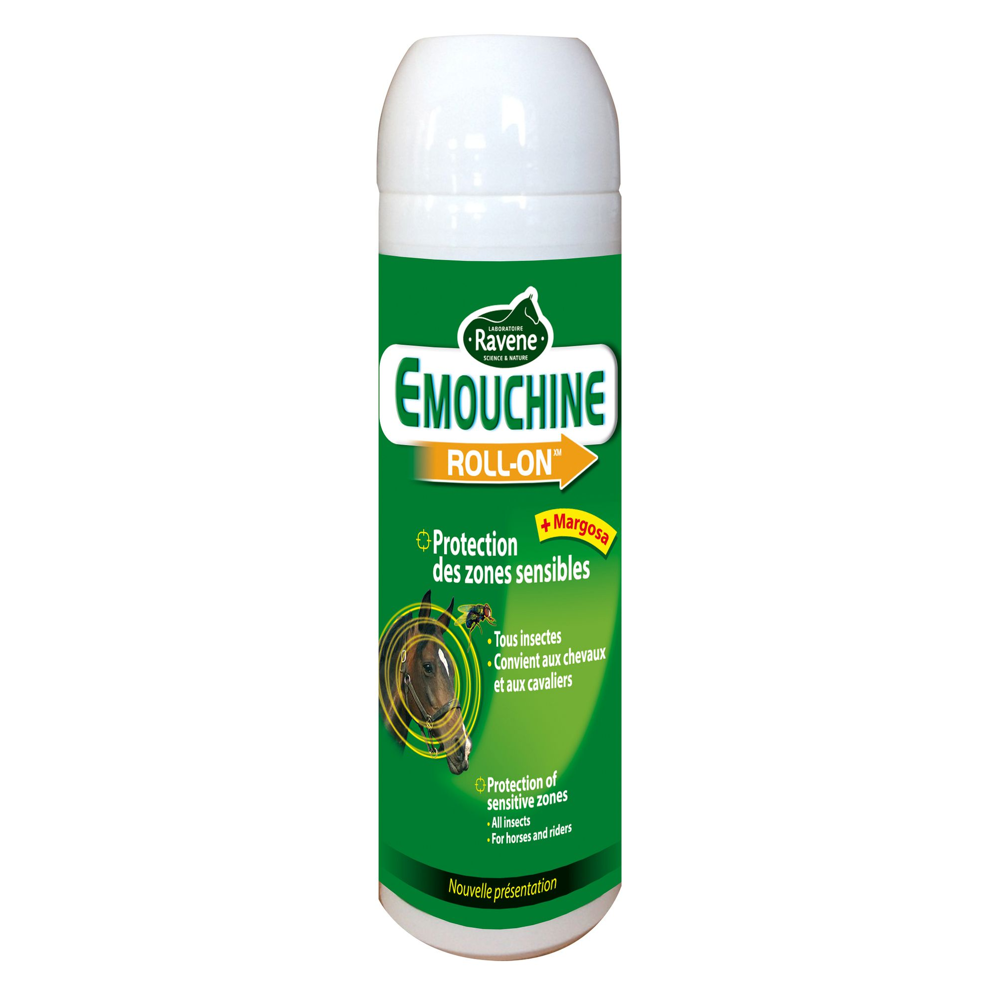 Roll on insectifuge équitation cheval et poney EMOUCHINE 100 ML