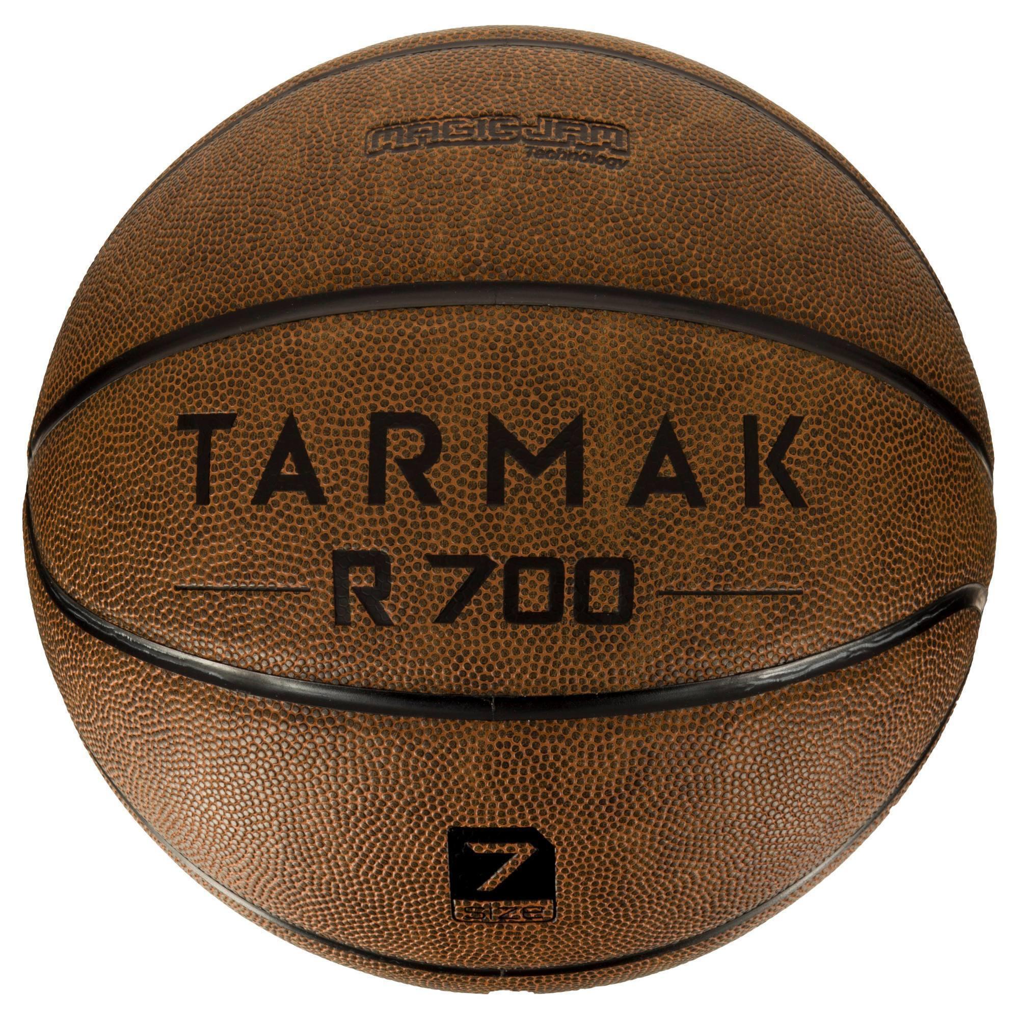 BALLON DE BASKET ADULTE TARMAK 700 TAILLE 7 MARRON. INCREVABLE ET SUPER TOUCHER.