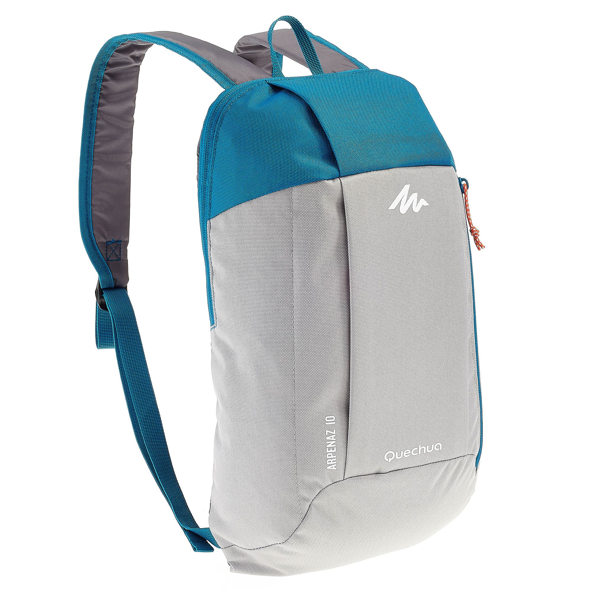sac à dos de randonnée pour la journée Arpenaz 10L gris/bleu