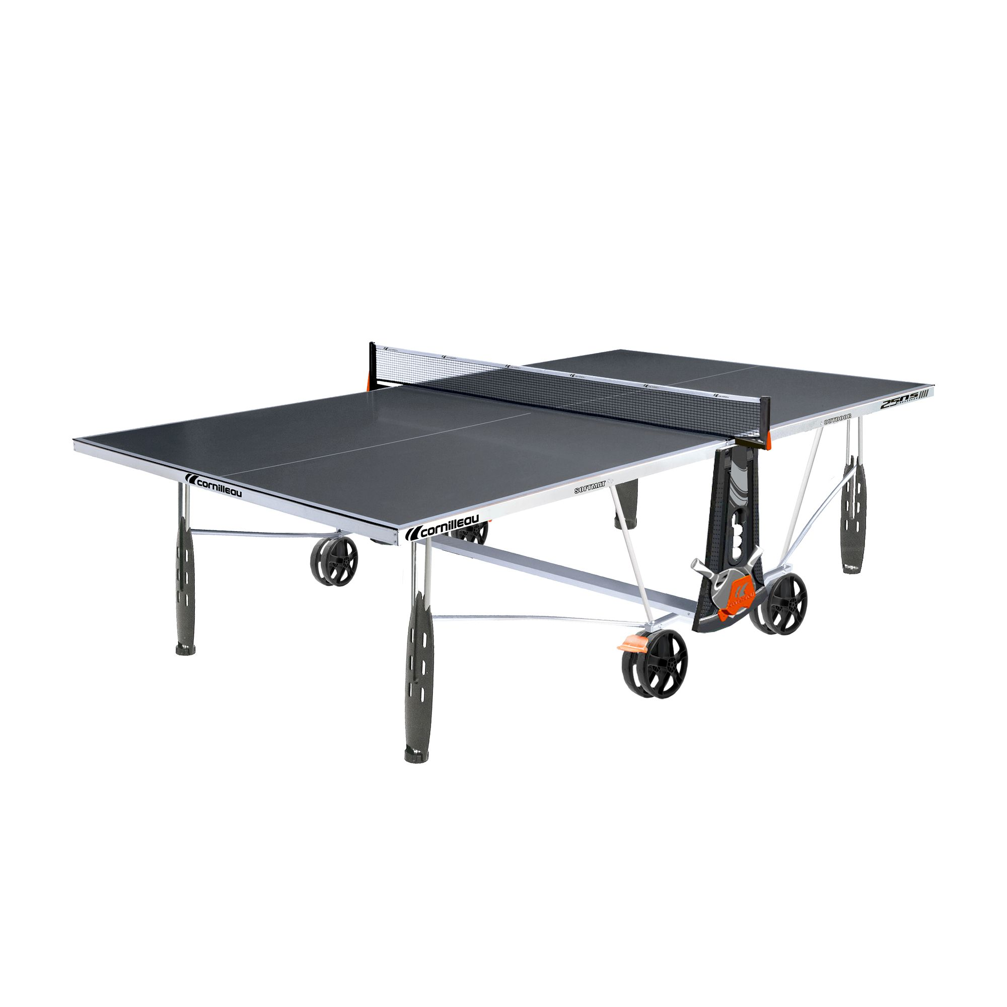 TABLE DE TENNIS DE TABLE FREE CROSSOVER 250S OUTDOOR GRISE