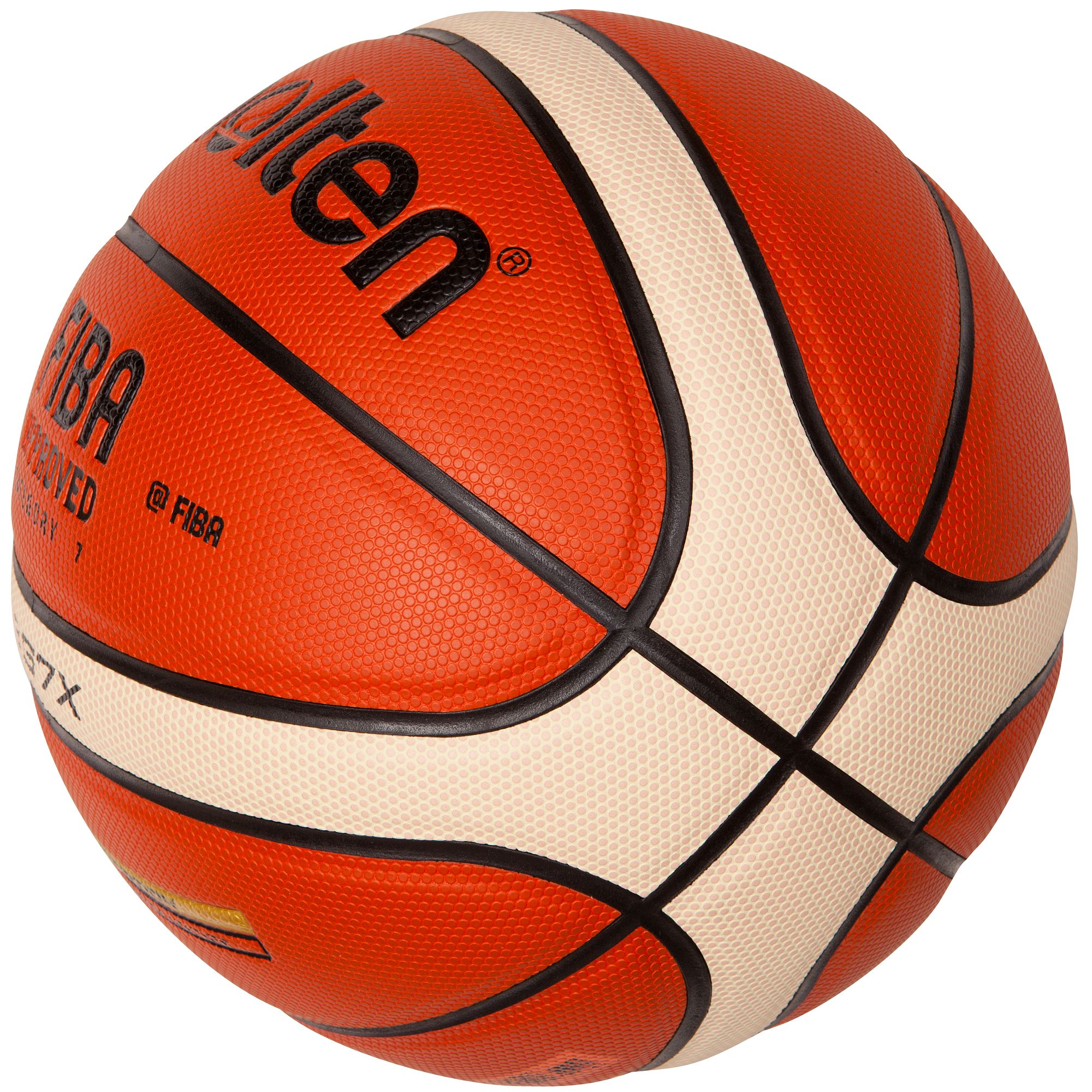 Ballon basketball molten gg7x taille 7 clubs collectivit s decathlon pro - Ballon basket decathlon ...