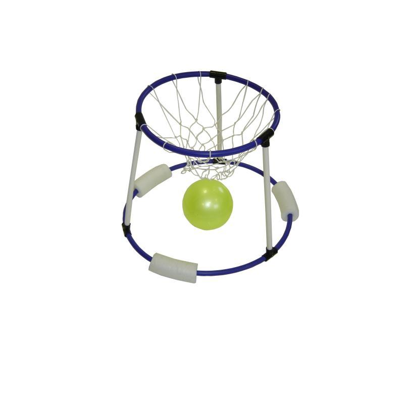 panier de basket flottant avec ballon pour la piscine. Black Bedroom Furniture Sets. Home Design Ideas