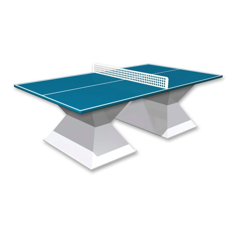 TABLE TENNIS DE TABLE RESITEC HD 35 BLEU
