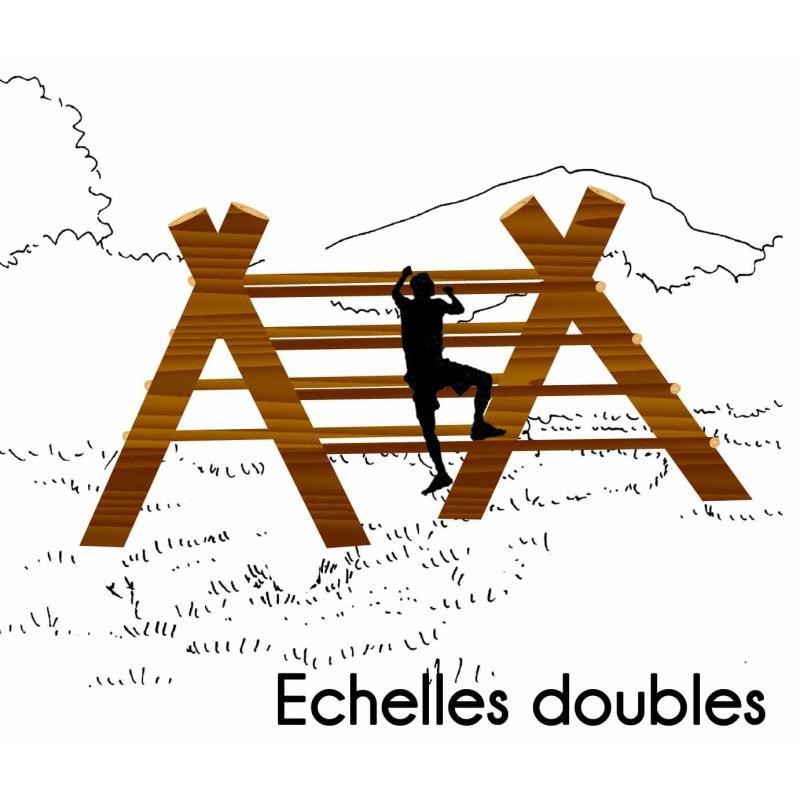 ECHELLE DOUBLE MODULE PARCOURS SPORTIF