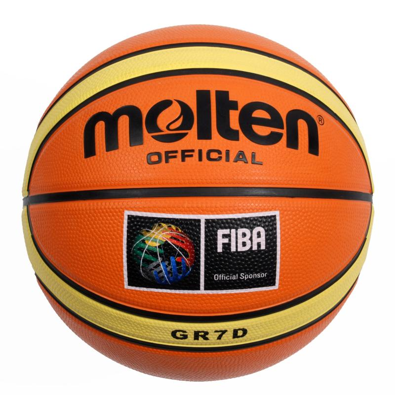 Ballon basket ball molten grd entrainement clubs collectivit s decathlon pro - Ballon basket decathlon ...