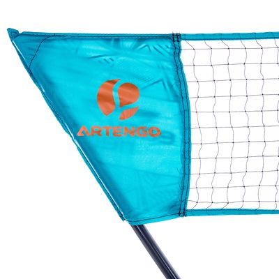 FILET DE BADMINTON EASY SET 3M PLUS - ORANGE / GRIS -