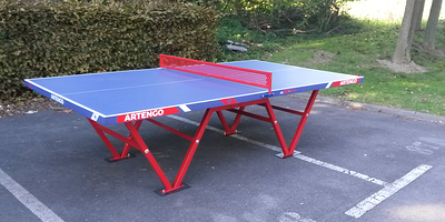 TABLE DE PING PONG POUR COLLECTIVITES ARTENGO  FT800 CAMP