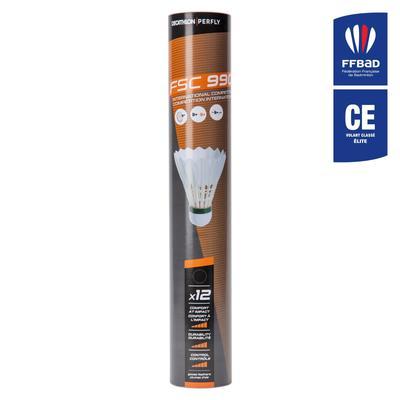 Lot De 12 Volants De Badminton Plumes FSC 990 Vitesse 78