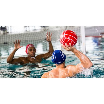 Ballon water polo officiel homme rouge