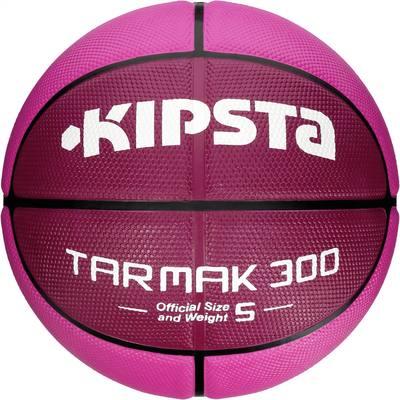 Ballon Basketball enfant Tarmak 300 taille 5 rose
