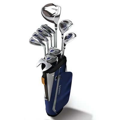 Kit de golf série complète 100 homme acier droitier, SAC RIGIDE