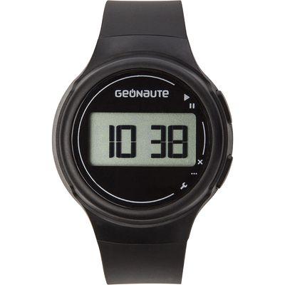 Montre sport chronomètre femme et junior W100 S noir