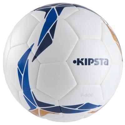 Ballon football F500 Hybride taille 5 blanc