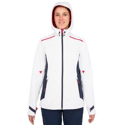 Veste polaire softshell bateau femme 900 blanc