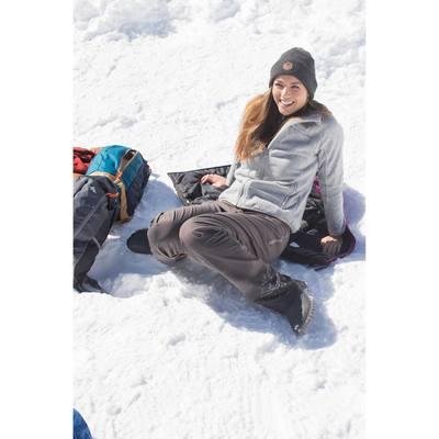 Polaire randonnée femme Forclaz 200 noir