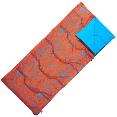 Sac de couchage enfant de camping   / camp du randonneur ARPENAZ 20° orange