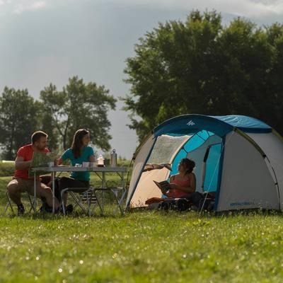 Tente de camping familiale arpenaz 4 I 4 personnes