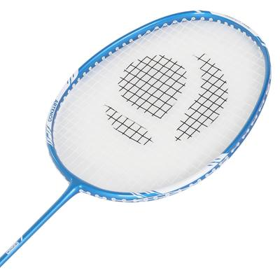 RAQUETTE DE BADMINTON ADULTE BR720 SOLID BLEUE AVEC GRIP PERMANENT