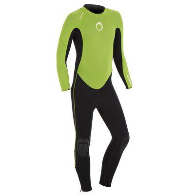 Combinaison SURF 100 Néoprène 2/2 mm Enfant Vert