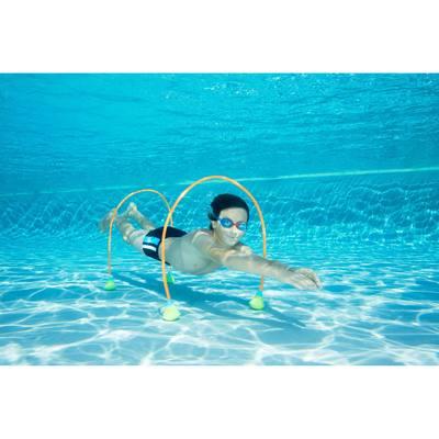 Parcours aquatique AQUAWAY vendus par 2 pour progresser en immersion 150 cm