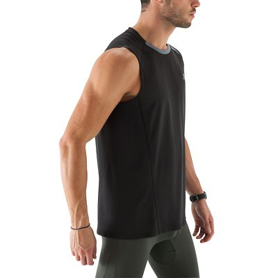 Débardeur LIGHT BREATHE fitness homme noir