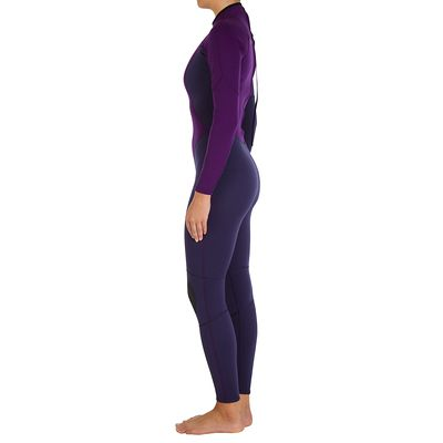 Combinaison SURF 100 Néoprène 2/2 mm Femme Violet
