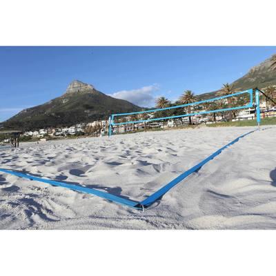 Beach tennis post net