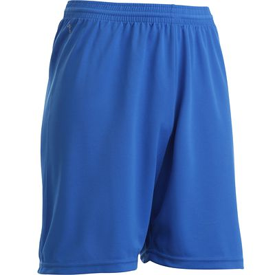 Short de football adulte F300 bleu