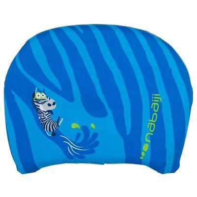 """Planche de natation bleue à battements enfant avec imprimé """"ZEBRO"""""""