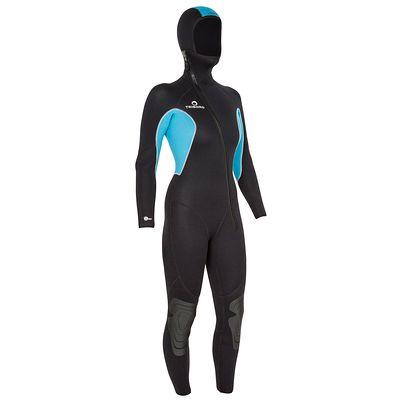 Combinaison de plongée Subea 5.5 mm Femme turquoise