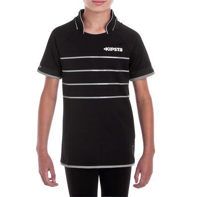 Maillot rugby enfant Full H 300 noir