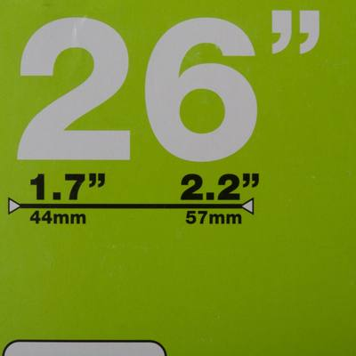 CHAMBRE A AIR 26x1,7/ 2,2 VALVE PRESTA