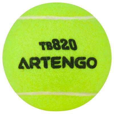 TUBE DE 4 BALLES DE TENNIS TB 820 ARTENGO
