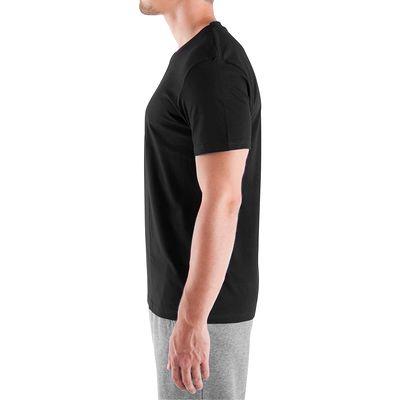 T-shirt coton Athletee fitness Essentiel homme noir