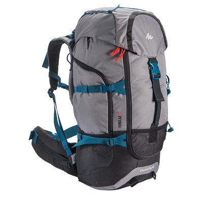 Sac à dos de randonnée Forclaz 50 couleur Grise. Un sac simple et fonctionnel