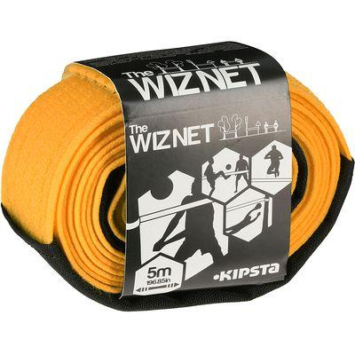 Filet de beach-volley extensible The Wiz Net orange