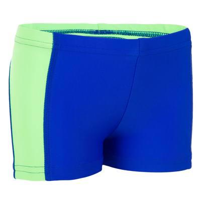Maillot de bain bébé boxer titou yoke bleu vert