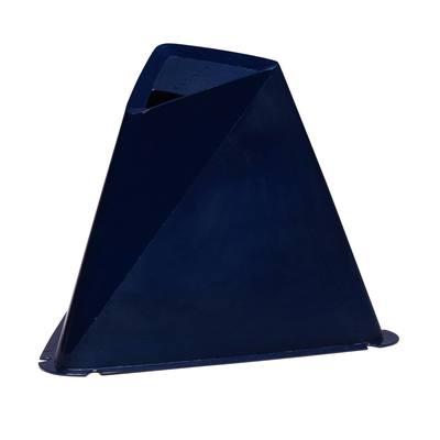 Lot de 6 cônes Essential 15cm bleus marines